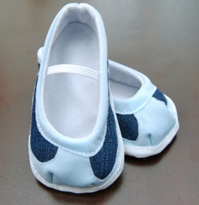Baby or toddler shoes - the finished product