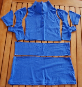 Polo dress pieces