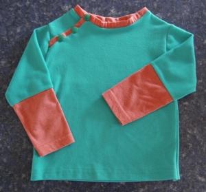 Finished toddler t-shirt