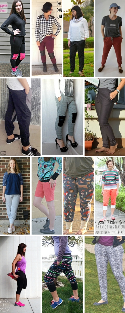 M is for Moto Joggers PDF Sewing pattern Blog Tour