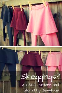 FREE legging pattern sew4bub.com