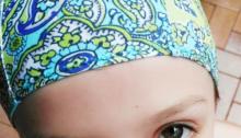 Kids Swimming cap free pattern sew4bub.com