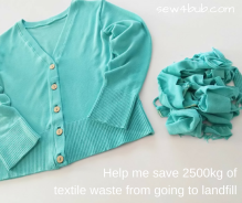 Help me save on textile waste sew4bub.com
